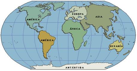 Quantos Continentes Existem No Nosso Planeta Terra