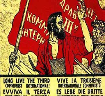 Após a derrubada do czar os comunistas tomaram o poder na Rússia.