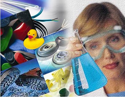Os elastômeros ou borrachas estão presentes em várias partes de nosso cotidiano