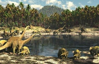 O estudo das eras geológicas revela-nos o passado da Terra