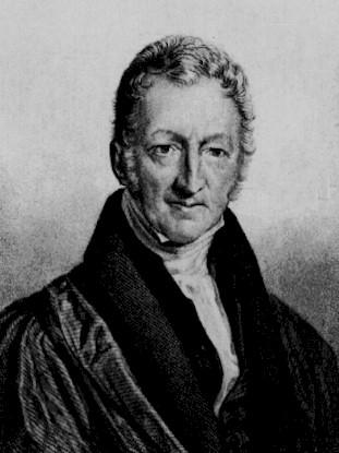Thomas Roben Malthus, pastor protestante, demógrafo e economista inglês
