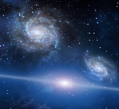 A luz das galáxias viajou bilhões de anos até chegar à Terra