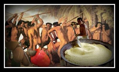 O cupuaçu, o caju e a farinha de mandioca são algumas das influências culturais indígenas na sociedade brasileira