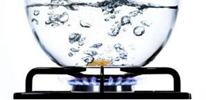 O Ponto de Ebulição da água ao nível do mar é 100°C e a pressão atmosférica é de 100 000 Pa