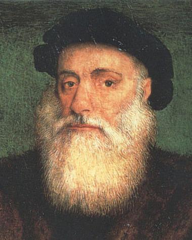 O navegador Vasco da Gama foi um dos mais importantes nomes da expansão marítima portuguesa