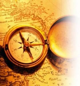 Inventada por chineses no século I, a bússola foi um importante instrumento de orientação durante a Era dos Descobrimentos.