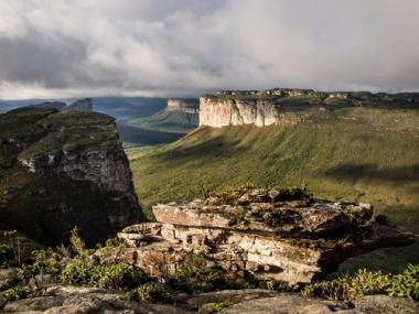 Chapada Diamantina, Bahia: resultante da formação dos escudos cristalinos no território brasileiro