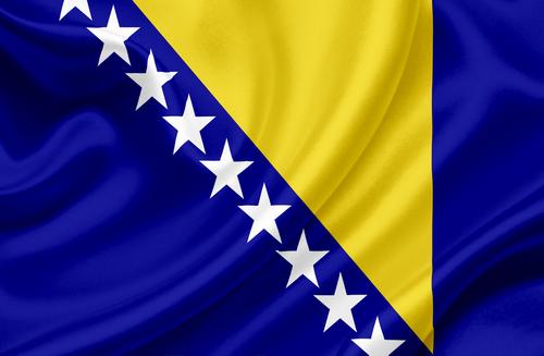 Bandeira da Bósnia-Herzegóvina