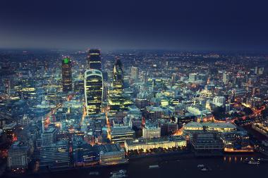 Cidade de Londres, um dos principais centros urbanos da atualidade