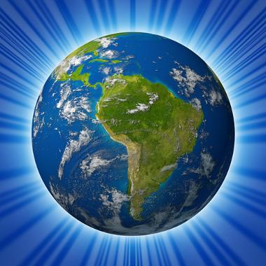 A América Latina integra uma das divisões regionais do continente americano