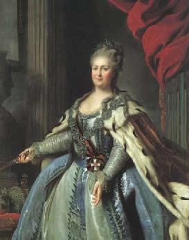 Catarina II da Rússia e o despotismo esclarecido