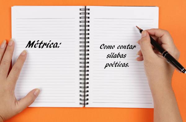 Através do número de sílabas poética, os versos possuem diferentes classificações