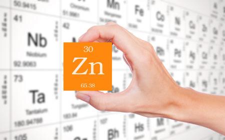 Sigla do elemento químico Zinco