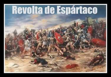 O exército de escravos chegou ao contingente de mais de 100 mil homens