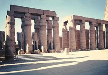 Tebas, capital dos faraós durante o Novo Império Egípcio