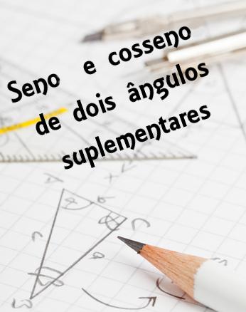 A partir de um triângulo obtusângulo, é possível determinar as medidas de seno e cosseno de um ângulo maior que 90°