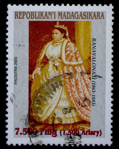 A rainha Ranavalona II iniciou o projeto modernizador do país que foi interrompido pelos franceses*