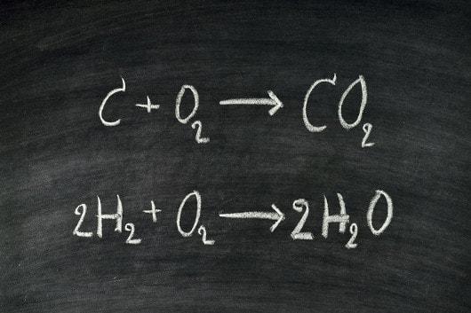 Balanceamento por tentativa de uma equação química