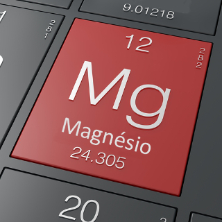O magnésio é um elemento metálico