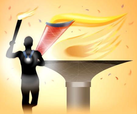 Os jogos olímpicos nasceram e tornaram-se populares na Grécia Antiga