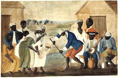 Os africanos compuseram a grande parte da população escrava do Brasil