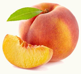 O pêssego é um fruto e uma fruta