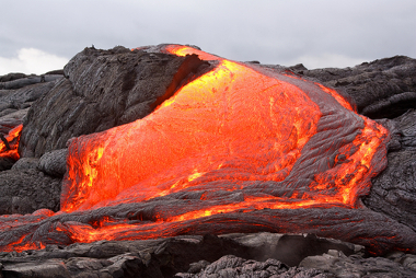 As rochas ígneas surgem da solidificação do magma