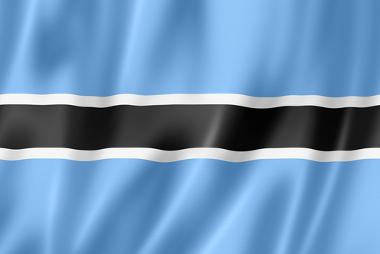 Bandeira nacional de Botsuana