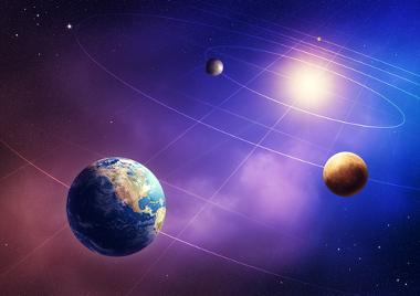 Os planetas rochosos do sistema solar são Mercúrio, Vênus, Terra e Marte
