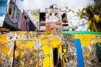 O grafite hoje representa um movimento de vanguarda, pois é a arte das ruas que luta para romper com as diferenças.*
