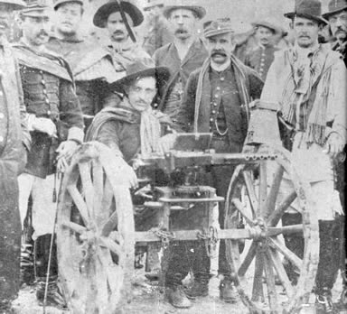 Tropa de Candido Dulcídio Pereira, em terras paranaenses, durante a Revolução Federalista (1893-1895)