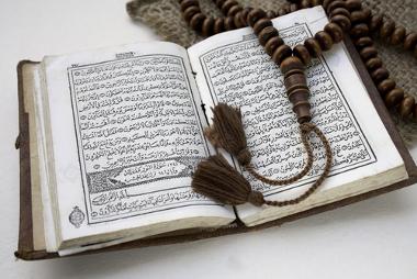 Livro sagrado do Islamismo, o Alcorão