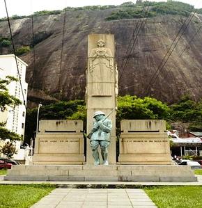 Monumento em homenagem ao Levante (ou Intentona) Comunista de 1935, no Rio de Janeiro