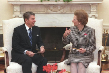 Ronald Reagan e Margareth Thatcher: os dois principais expoentes do Neoliberalismo nos anos 1970