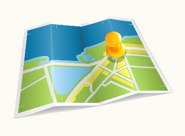 Os mapas são importantes formas de descrição da realidade