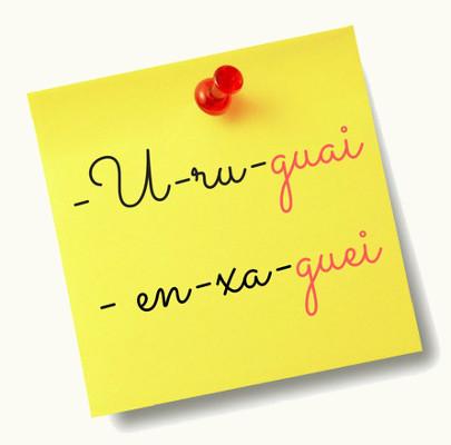 As sílabas em destaque possuem o encontro de uma vogal e duas semivogais. Saiba mais sobre esse encontro vocálico neste texto