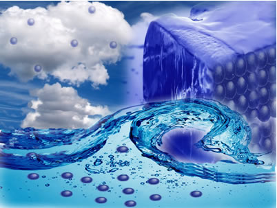 É possível identificar as trocas de energia na forma de calor nas mudanças de estado físico da água por meio da entalpia