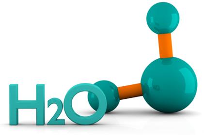A molécula de água possui geometria angular, por isso ela é polar