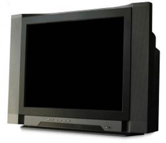Televisão que utiliza o tubo de raios catódicos