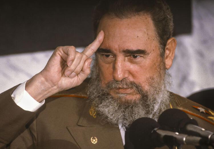 Fidel Castro, líder da Revolução Cubana, governou o país caribenho entre 1959 e 2008.*