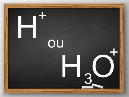 Formas químicas com hidrogênios ionizáveis.