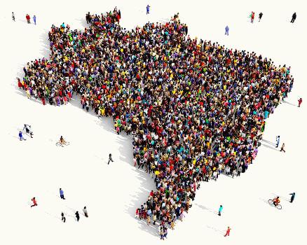 Por ser um país de dimensões continentais, o Brasil possui ampla diversidade linguística.
